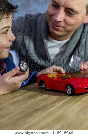 Building Model Car Together