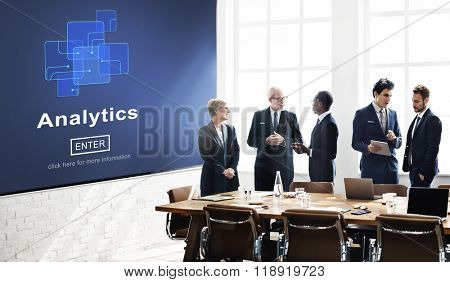 Analytics Analysis Data Information Research Concept