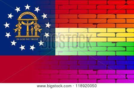 Rainbow Wall Georgia