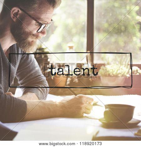 Talent Natural Skill Professional Superior Abilities Concept