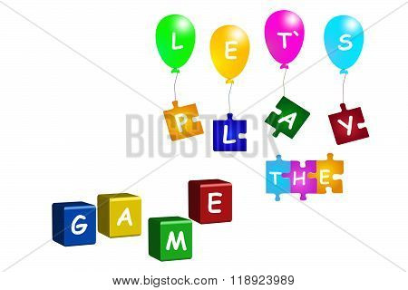 Let`s play the game vector