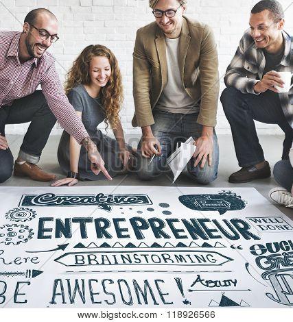Entrepreneur Investor Business Leader Concept