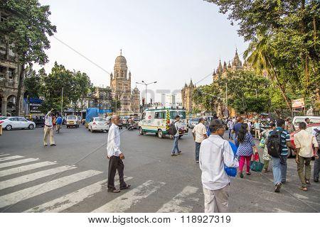 Municipal Corporation Building At Mumbai, India