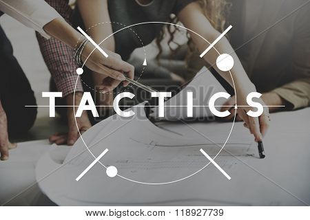 Tactics Strategy Objective Process Solution Vision Concept