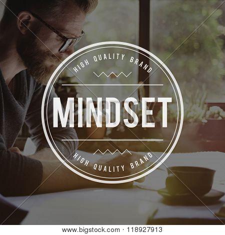 Mindset Focus Mindful Awareness Choice Concept