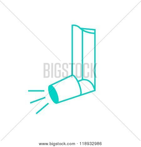Vector Asthma Inhaler