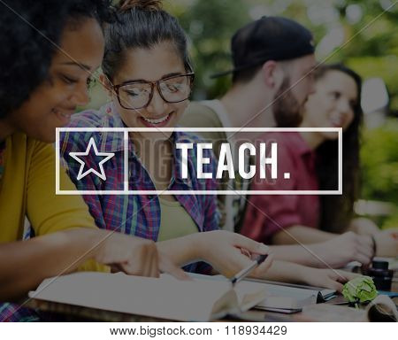 Teach Teacher Teaching Training Education Skill Concept