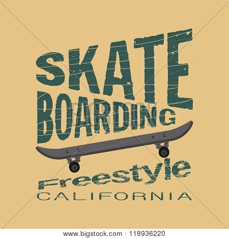 skateboarding, t-shirt, T-shirt inscription, typography, graphic
