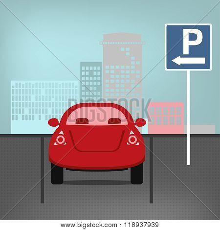 Vector parking lot