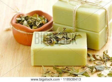 Natural Handmade Soap. Spa
