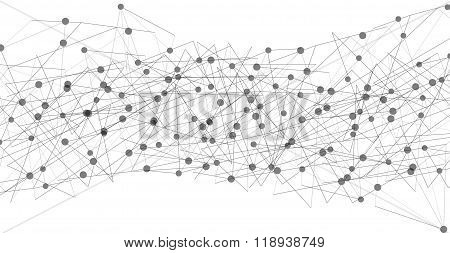 Vector Network Background
