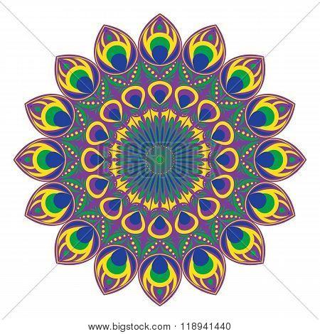 Vector Circular Pattern Or Mandala