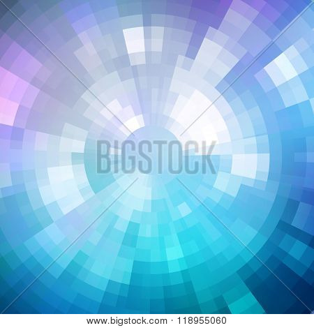 Abstract background shiny mosaic pattern Disco style.  For design party flyer, leaflet and nightclub