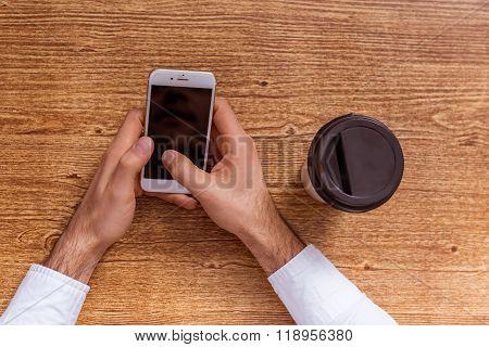 Hands And Gadget