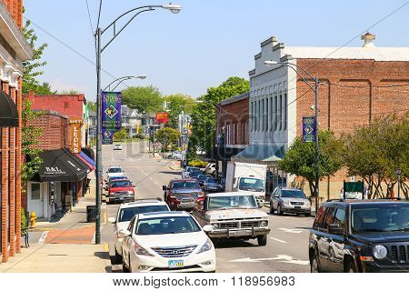 Mount Airy Downtown