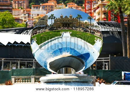 Monaco 02.june 2014, Monte Carlo Grand Casino. One Of The World's First Major Casinos Is Situated On