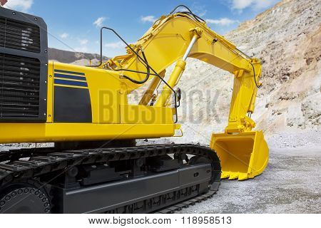 New Excavator Ready To Work