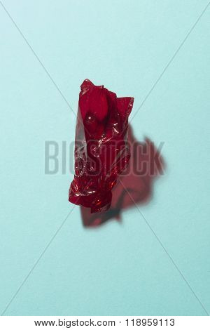 Dark Red Sweet Wrap