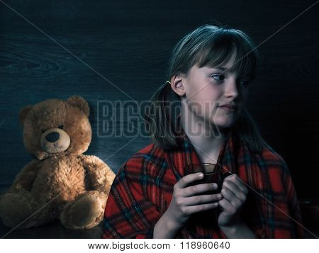 Portrait of a teen girl