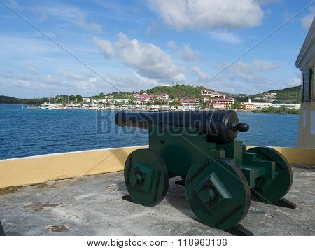 Cannon Protecting The Harbor