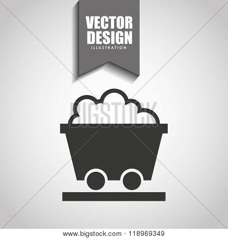 mining industry icon design