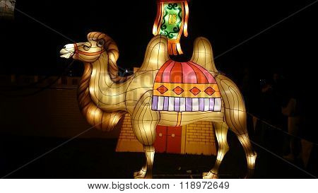 Camel Handmade Chinese Lantern