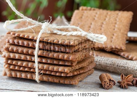 Swedish Biscuits Closeup