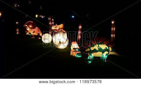 Dinosaur Handmade Chinese Lantern
