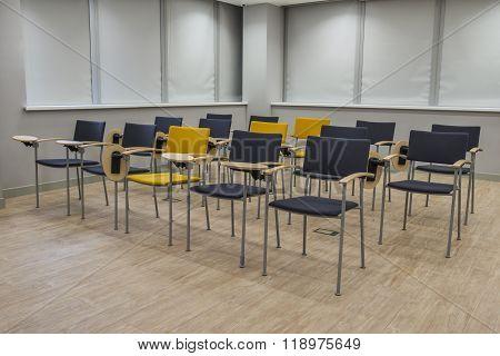 Empty Classroom For Trainings