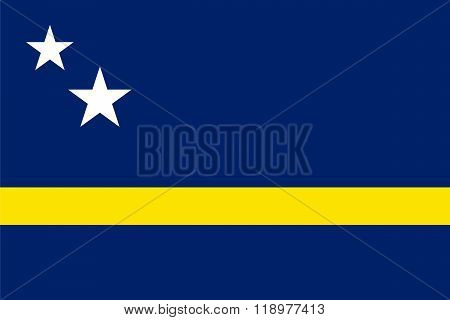 Standard Proportions For Curacao Flag