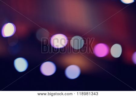 Blurred stage background
