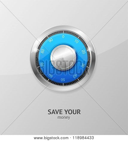 Save Money Concept. Vector