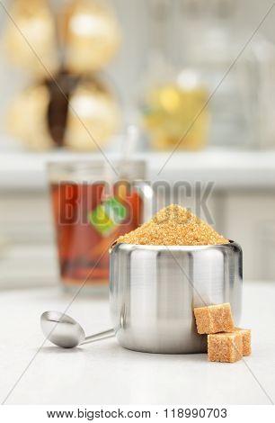 Steel Sugar Bowl