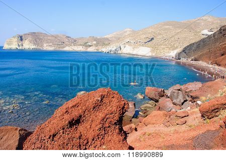 The Red Beach, Akrotiri, Santorini