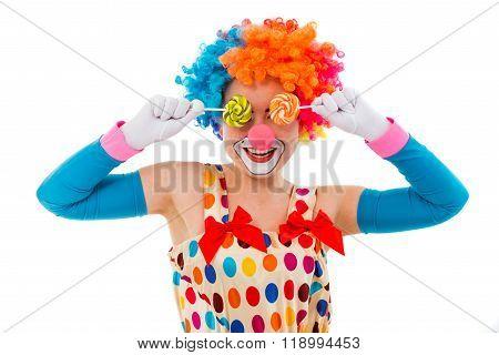 Funny Playful Clown