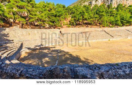 Hippodrome Of Ancient Delphi