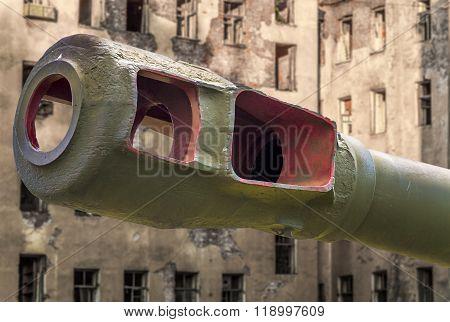 Artillery Gun Barrel