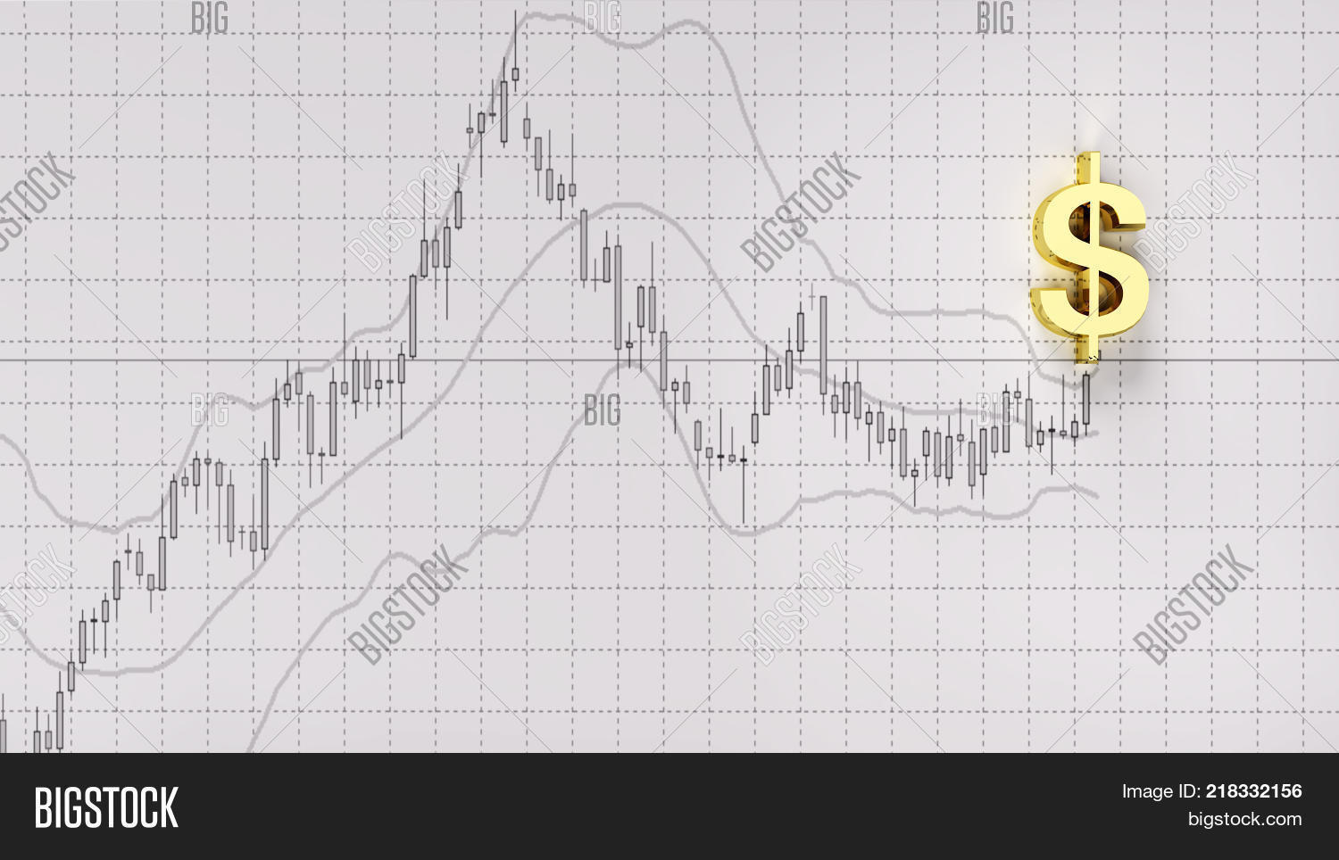 Chart indicator copy space symbol image photo bigstock chart indicator copy space symbol gold dollarinvestment stock market candlestick graph 3d illustration money chart indicator biocorpaavc Images