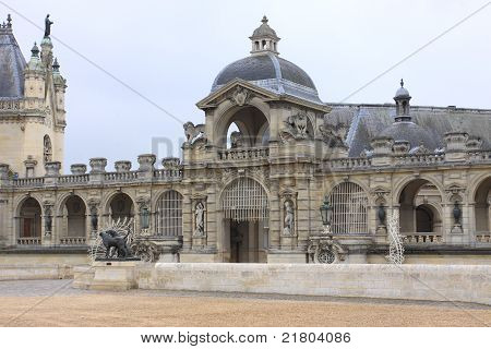 Castle Of Chantilly France
