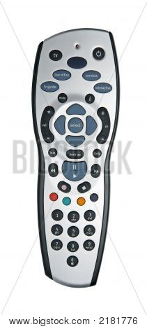 Digital Tv Remote Isolated With Path