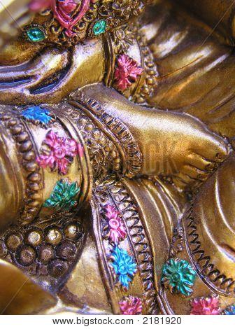 Saraswati'S Feet