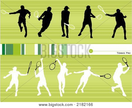 Tennis Vector Composition