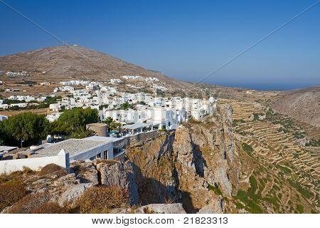 Folegandros Town, Greece
