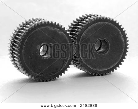 Well Fitted Twin Gears