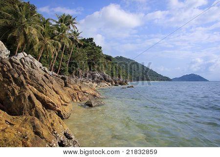 Rugged Coastline Koh Samui Thailand