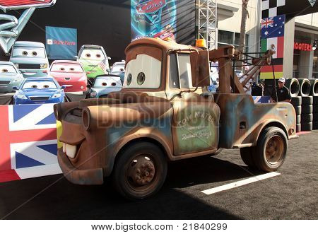 LOS ANGELES - JUN 18:  MATER arrives to the