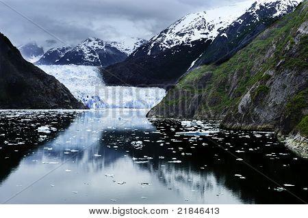 The Approach To Sawyer Glacier