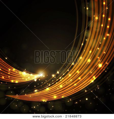 gold stylish fantasy background
