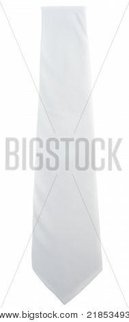 Blank White Tie