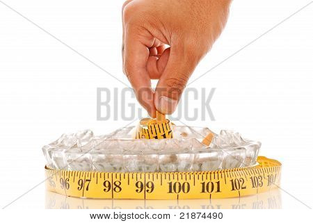 Weight From From Quitting the Habit